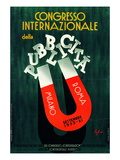 International Conference of Advertising Giclee Print by Luca Della Robbia