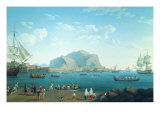 The Port of Palermo Giclee Print