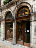Umberto Saba Antiquarian Bookshop in Trieste Photographic Print by Luca Cambiaso