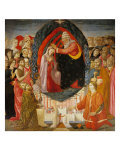 Coronation of Mary Among the Angels and Saints Giclee Print by Guido Reni