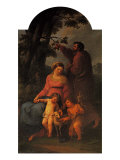 Holy Family Giclee Print by  Michelangelo Buonarroti
