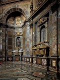 Chapel of the Princes at the San Lorenzo Church in Florence Photographic Print by Andrea Pozzo