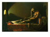Rhea Silvia Buried Alive Giclee Print by Giovanni Antonio Amadeo