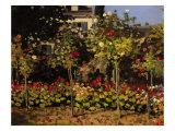Garden at Sainte-Adresse Giclee Print