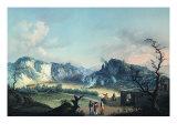 The Solfatara Giclee Print by Luca Della Robbia