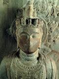 Statue of Bodhisattva Standing: Avalokitesvara Samantamukha Photographic Print by Felice Giani