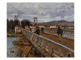 Camaret's Port Giclee Print by Cesare Dell'acqua