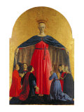 Polyptych of the Misericordia (Or Virginn of the Mercy) Giclee Print by Francesco Lojacono