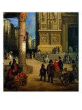 Market of Figini Giclee Print by  Michelangelo Buonarroti