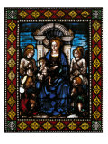 Madonna with Child and Angels Giclee Print