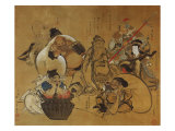The Seven Gods of Fortune Giclee Print by Masolino Da Panicale