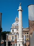Column of Trajan or Trajan's Column Giclee Print by Apollodoro di Damasco