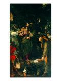 Christ Taken Prisoner Giclée-tryk af  Duccio di Buoninsegna