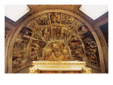 Apse Frescos, Church of San Pietro in Vincoli Giclee Print by Hayez Francesco