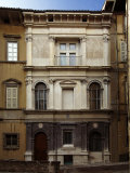 House of the Archpriest Bergamo Photographic Print by Andrea Mantegna