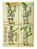 Historia General De Las Cosas De Nueva Espana: Aztec Chronicles Giclee Print