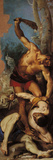 Samson Struggling Against the Philistines Giclee Print by Odoardo Borrani