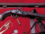Flintlock Pistol to Be Traded at a Mountain-Man Rendezvous Reenactment, Fort Mandan, North Dakota Photographic Print