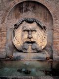 Fountain Mascherone of Santa Sabina Fotografie-Druck von Guido Reni
