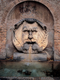 Fountain Mascherone of Santa Sabina Photographic Print by Guido Reni
