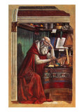 St Jerome Giclee Print by Gaetano Previati