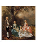 The Gravenor Family Giclee Print by Johannes Handschin
