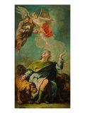 Daniel in the Lion's Den Giclee Print by Gaetano Previati