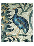 Floor Mosaic of the Aula Teodoriana Giclee Print
