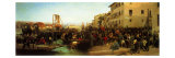 The Landing of Hunters of the Alps in Sesto Calende in 1859 Giclee Print by  Titian