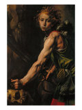 David with the Head of Goliath Giclee Print