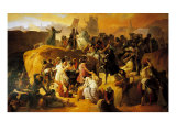 The Thirst of the Crusaders at the Foot of Jerusalem Giclee Print