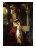 The Last Kiss Given by Romeo to Juliet Giclee Print