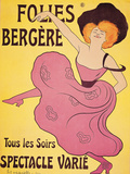 "Poster for ""Folies Berger"" Giclee Print"