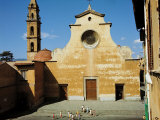 Church of Santo Spirito in Florence Photographic Print by Michail Petrovic Klodt
