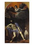 St Roch in Prison Giclée-tryk af Masaccio