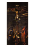 Crucifixion (Christ on the Cross with the Virgin, St John and St Dominic) Giclee Print by Hans Maler