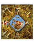 Frescoed Vault of the Room of the Golden Age (Sale Dell'Eta Dell'Oro) Giclee Print by Gian Lorenzo Bernini
