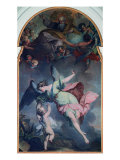 The Guardian Angel Giclee Print by Felice Giani