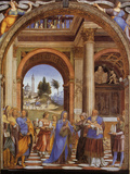 Presentation of Jesus in the Temple Giclee Print by Franz Lenhart