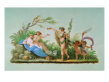 The Wedding of Bacchus Dyonisus and Arianna Giclee Print by  Titian