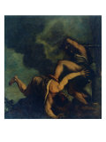 Cain Kills (His Brother) Abel Giclee Print by Gino Boccasile
