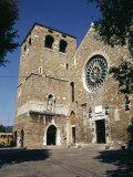 Basilica of San Giusto - Trieste Photographic Print