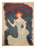Odette Dulac Giclee Print by Valerio Castello