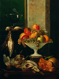 Still Life with Fruits and Game Giclee Print