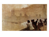 The Bridge at Westminster Giclee Print