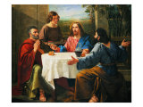 Supper at Emmaus Giclee Print