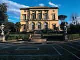 Villa Oppenheim-Cora, Florence Lámina fotográfica por Demetrio Cosola