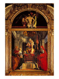 Altarpiece of St Christine Al Tiverone Giclee Print by Felice Giani