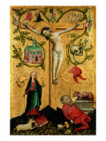 The Virgin in Hortus Coclusus. the Crucified Redeemer Giclee Print by  Romanino
