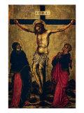 La Crucifiction Reproduction procédé giclée par Telemaco Signorini